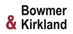 bowmer & kirkland, logo, time lapse, contact, uk