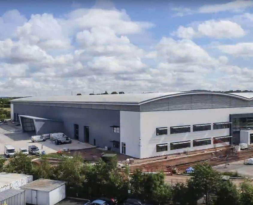 time lapse, time lapse uk, construction, warehouse,
