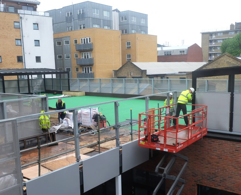 time lapse, time lapse uk, school, education, Charles dickens school, morgan sindall