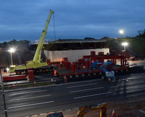 time lapse, time lapse uk, M1, bridge, leicestershire, junction