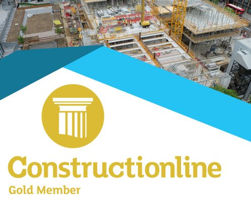 constructionline, construction, gold member, health and safety, accreditation, time lapse
