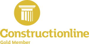 constructionline logo, gold member, construction, health and safety, time lapse