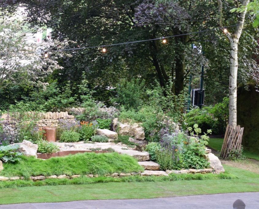 time lapse, time lapse uk, chelsea flower show, rhs chelsea flower show, landscaping, gardens
