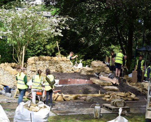 Chelsea Flower Show, RHS, Royal, horticulture, gardening, landscaping, time lapse, video, construction, flowers