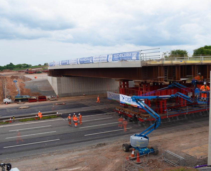time lapse, time lapse uk, M1 Overbridge, Leicestershire, bridge