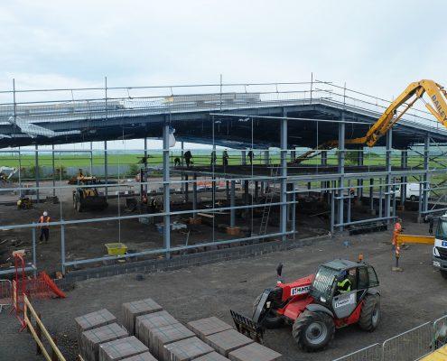time lapse, time lapse uk, construction, JT Dove, Newcastle,