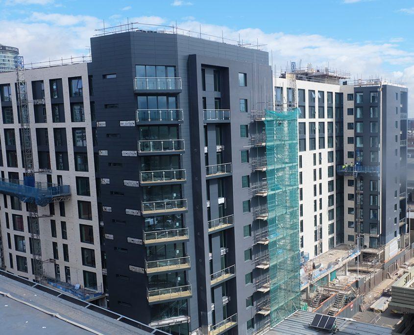 pershore street, time lapse, link development, construction, birmingham