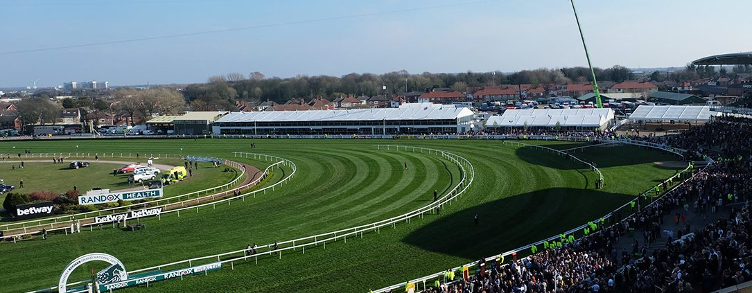 time lapse uk, time lapse, aintree, aintree racecourse, liverpool, grand national, hospitality, construction,