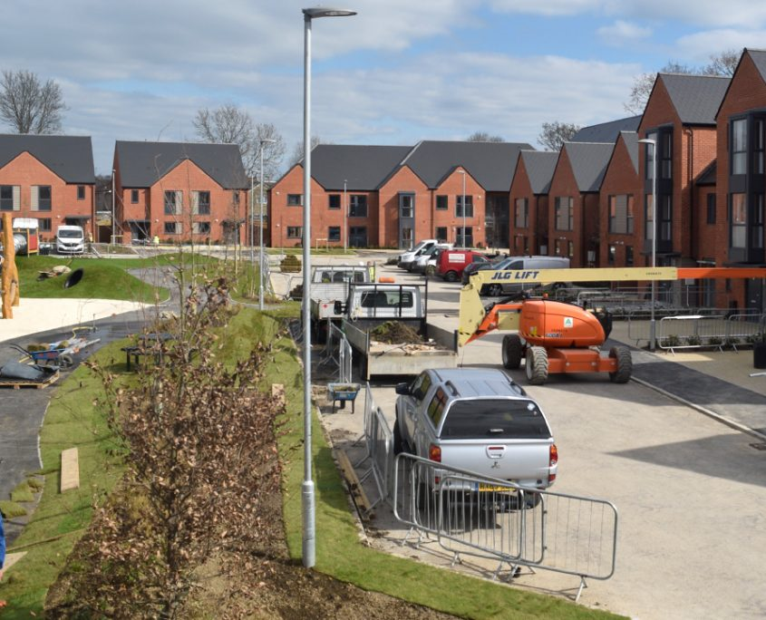 time lapse uk, time lapse, time lapse videos, construction, Kingsclere Avenue, Portsmouth City Council, Hampshire, housing development, residential development, housing,