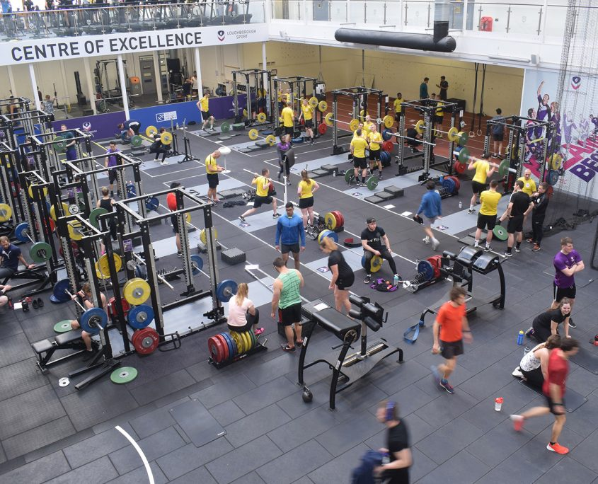 time lapse, time lapse uk, Powerbase Gym, Loughborough University, revamp