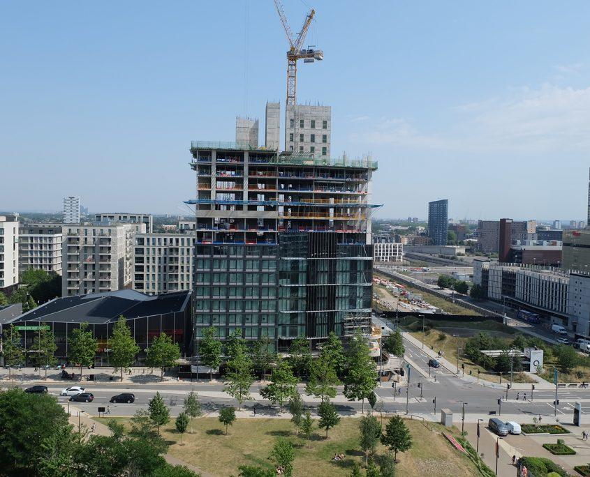 construction time lapse, time lapse