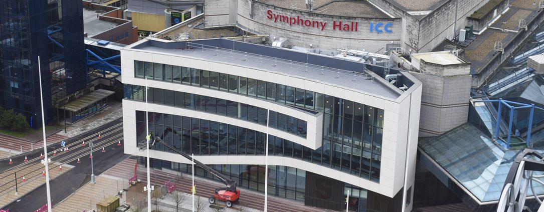 symphony hall, time lapse, birmingham