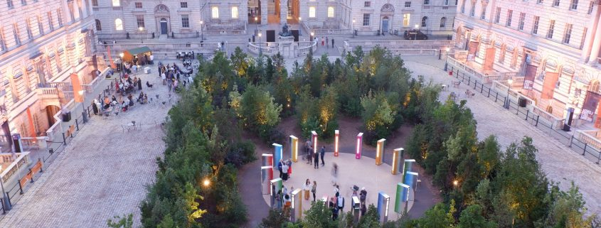 time lapse, forest for change, somerset house